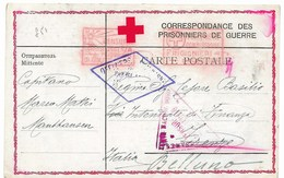 CROCE ROSSA ITALIANA - DA MATHAUSEN A BELLUNO - 15.11.1916. - 1900-44 Vittorio Emanuele III