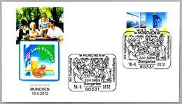 200 AÑOS FERIA DE LA CERVEZA - 200 JAHRE BIERGARTEN. Munchen 2012 - Cervezas