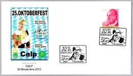 25 FIESTA DE LA CERVEZA - OKTOBERFEST. Calp. Alicante, 2012 - Cervezas