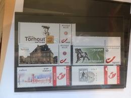 5 VERSCHILLENDE ZEGELS   XX PERSONALISE  TORHOUT - Private Stamps