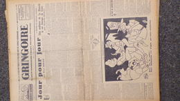 GRINGOIRE -3 AOUT 1939-N° 560-JOURNAL WW2 PRESSE HEBDO-PARIS-BERAUD-TARDIEU-RECOULY-REVOLUTION-ROOSEVELT - Français