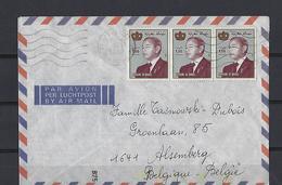 Maroc: 1 Lettre Pour La Belgique - Maroc (1956-...)