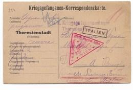 PRIGIONIERI DELLA GRANDE GUERRA - DA AUSTRIA A TORINO 3.3.1916. - 1900-44 Vittorio Emanuele III