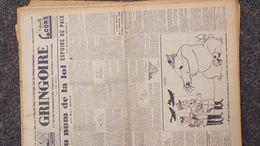 GRINGOIRE -10 AOUT 1939-N° 561-JOURNAL WW2 PRESSE HEBDO-PARIS-BERAUD- RECOULY-STALINE-AMOURELLE-COMMUNISME-DEAUVILLE - Français