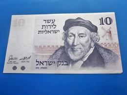 1973 BILLET DE BANQUE BANK OF ISRAËL 10 SHEKELS JÉRUSALEM.. - Israel