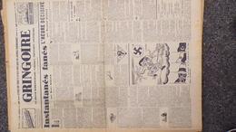 GRINGOIRE -17 AOUT 1939-N° 562-JOURNAL WW2 PRESSE HEBDO-PARIS-BERAUD- RECOULY-HITLER-AMOURELLE-MAGINOT-MONTE CARLO - Revues & Journaux