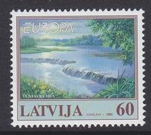 Europa Cept 2001 Latvia 1v ** Mnh  (44112F) - 2001