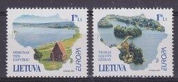 Europa Cept 2001 Lithuania 2v ** Mnh (44112F) - 2001