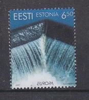 Europa Cept 2001 Estonia 1v ** Mnh (44112G) - 2001