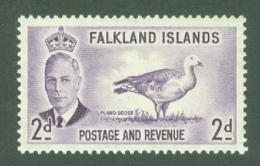 Falkland Is: 1952   KGVI   SG174    2d       MNH - Falklandeilanden