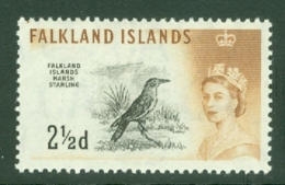 Falkland Is: 1960/66   QE II - Birds   SG196    2½d      MNH - Falkland Islands