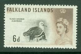 Falkland Is: 1960/66   QE II - Birds   SG200    6d      MNH - Falkland Islands