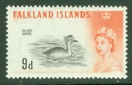 Falkland Is: 1960/66   QE II - Birds   SG201    9d      MNH - Falkland Islands