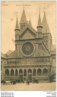 TOURNAI. Entrée De La Cathédrale 1906 - Doornik