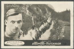 Tour De France 1924-25 BOTTECCHIA équipe Automoto-Hutchinson Dans La Faucille - Cycling