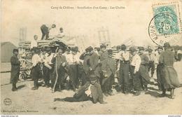 WW 2 Cpa 51 MARNE. Eglise Virginy Et Les Chalits Au Camp De Châlons Guerre 14-18 - Camp De Châlons - Mourmelon