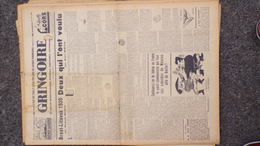 GRINGOIRE -24 AOUT 1939-N° 563-JOURNAL WW2 PRESSE HEBDO-PARIS-BERAUD- RECOULY-HITLER-STALINE-TARDIEU-BREST LITVOSK - Français