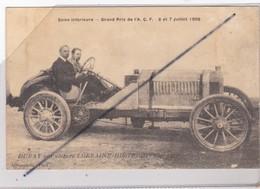 Duray Sur Voiture Lorraine Dietrich - Seine Inférieur -76- Grand Prix De L'A.C.F. 6&7 Juillet 1908 - Postales