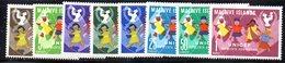 CI874a - Maldive Islands 1962. UNICEF. Michel 95-102  ***  MNH - Maldive (...-1965)