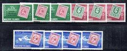 CI975 - Maldive Islands - Maldives 1961 55th Anniv Of First Maldivian Stamp MNH ***  (2380A) - Maldive (...-1965)