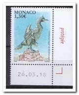 Monaco 2018, Postfris MNH, Birds - Monaco