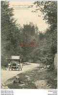 WW 89 CRY-SUR-ARMANCON. Belle Voiture Ancienne Décapotable Sur La Route Du Château De Rochefort. Impeccable Et Vierge - France