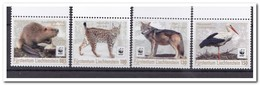 Liechtenstein 2018, Postfris MNH, Birds, Animals, WWF - Liechtenstein