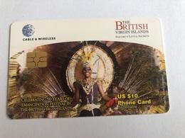 Virgin Islands - Celebrating 50 Years  - Chip Card - Virgin Islands