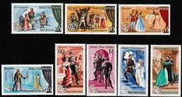 N 284) Ungarn 1967 Mi# 2355-62 **: Opern Weber Mozart Bartok Bizet Verdi Wagner - Musica