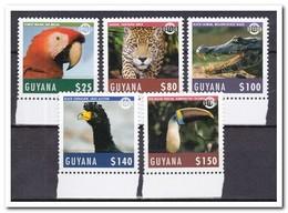Guyana 2018, Postfris MNH, Birds, Animals - Guyana (1966-...)