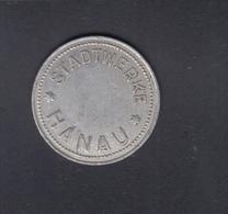 Hanau Er Stadtwerke Wertmarke Aluminium 22mm - Deutschland