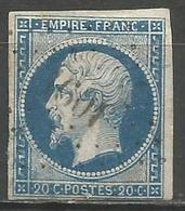 FRANCE - Oblitération Petits Chiffres LP 1601 JUVIGNY-SUR-TERTRE (Manche) - 1849-1876: Période Classique