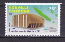 NOUVELLE CALEDONIE 2019 ANNIVERSAIRE SIEGE DE LA CPS ** - Nouvelle-Calédonie