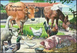 FRANCE Bloc   69 ** MNH Nature Lapin Poule Vache Baudet âne Kuh Hase Henne Esel Rabbit Hen Cow Donkey - Mint/Hinged