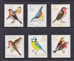 Germany DDR 1979 Song Birds Set Of 6 MNH - [6] République Démocratique