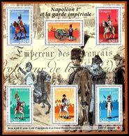 FRANCE Bloc   72 ** MNH Napoléon Bonaparte Et Garde Impériale Dragon Mameluk Grenadier Artilleur - Sheetlets