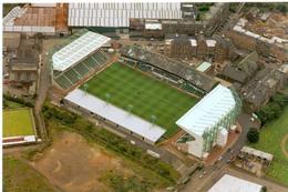 Postcard Stadium Hibernian Scotland Sports Stade Stadio Estadio Football Soccer Calcio Sport.PREMIER IMAGE - Fussball