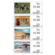 Ireland/Eire 2019 - Conmemorative Definitive Series Strip Of 4 Mnh - 1949-... República Irlandése