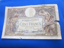 Billets  Billets  France  1931 Anciens Francs Circulés Au XXème  100 F 1908-1939 ''Luc Olivier Merson' état Voir Photos - 1871-1952 Antiguos Francos Circulantes En El XX Siglo