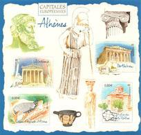 FRANCE Bloc   78 ** MNH Capitale Europe ATHENES Athen Parthénon Odéon église Saints-Apôtres Académie - Mint/Hinged