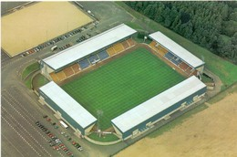 Postcard Stadium St Johnstone Scotland Sports Stade Stadio Estadio Football Soccer Calcio Sport.PREMIER IMAGE - Fútbol