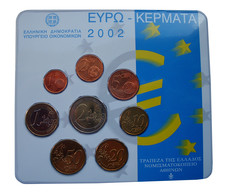 Griekenland Euroset 2002 KNM Set In Blister - Grèce