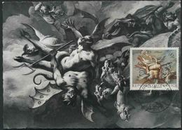 1968 Pittura Arte, Paul Troger Cartolina Maximum Austriaca - Religione
