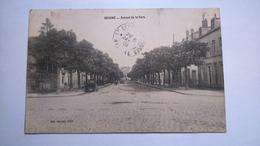 Carte Postale ( X2 ) Ancienne De Beaune , Avenue De La Gare - Beaune