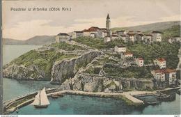 VRBNIK KRK KVARNER, HRVATSKA CROATIA, PC, Circulated - Croatie