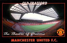 Postcard Stadium Manchester United Old Trafford England Sports Stade Stadio Estadio Football Soccer Calcio Sport - Fussball