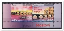 Bosnië Herzegovina 2018, Postfris MNH, Swan, Bridge, Europe - Bosnië En Herzegovina