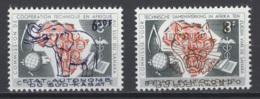 1961. Sud-Kasaï. COB N° 16/17 *, MH. Cote 2018 : 1,50 €. - Sud-Kasaï