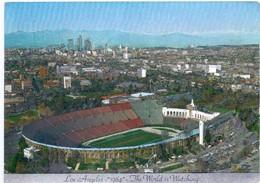 Postcard Stadium Los Angeles Usa Stadion Sports Stade Stadio Estadio Football Soccer Calcio Sport. Olympics Games - Fussball
