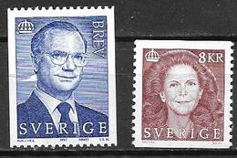 Suède 1997 1976/1977 Neufs Roi Et Reine - Suecia